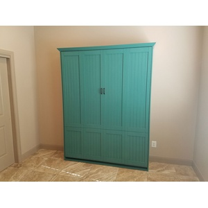 Newport style Murphy Bed in Greenbay finish