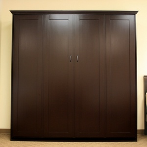 King size Remington in Alder wood with Espresso finish