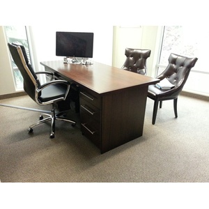 Contemporary Professional Office in Mahogany Wood
