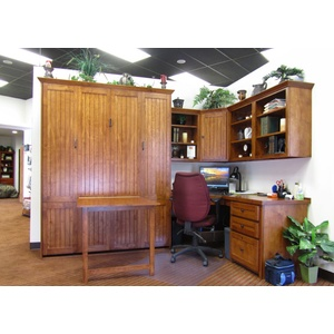 Newport style Home Office with Drop Down Table