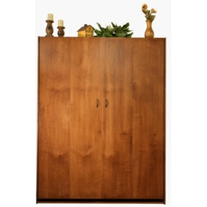 Alder Dakota Murphy Bed with Autumn Haze Finish
