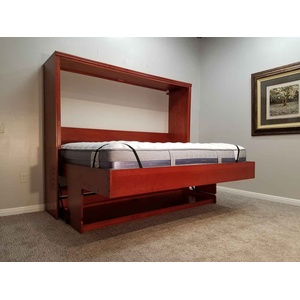 Brittany Style Disappearing Desk Bed Side View Open