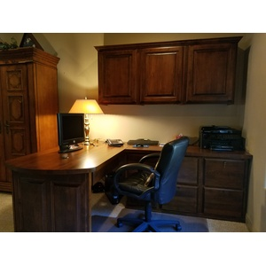 Presidential II style Home Office