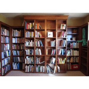 Bookcase Wallbed Home Library
