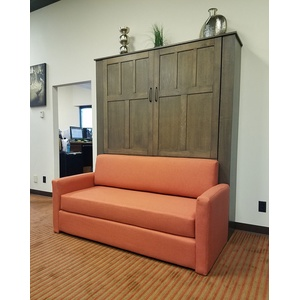 Park City Sofa Murphy Bed / Quarter Sawn Oak / Mango sofa