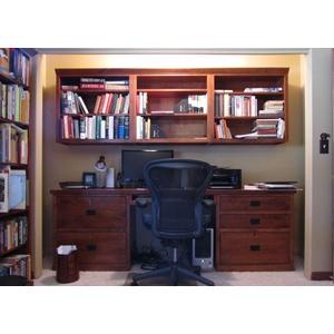 Home Library Desk Area