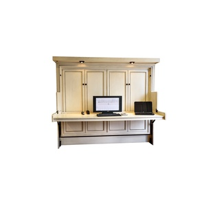Paris Style Murphy Desk Bed