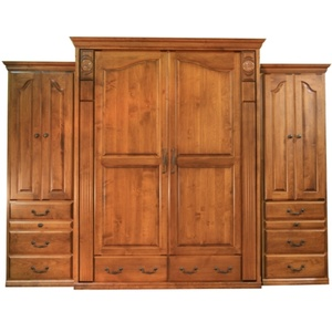 Rustic Cherry Tuscany Wallbed with Autumn Haze finish