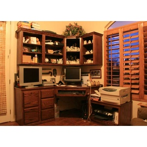 Brittany Home Office in Oak wood