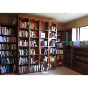 Bookcase Wallbed Home Library Right Wall