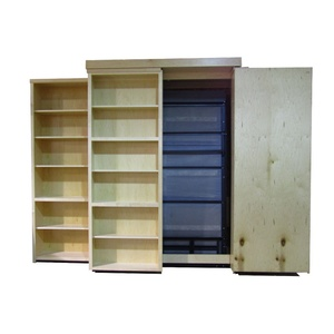 Bookcase Wallbed one side open