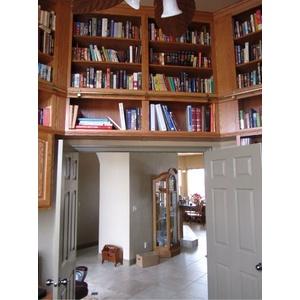 Custom Home Library