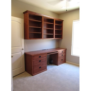 American Craftsman style Home Office