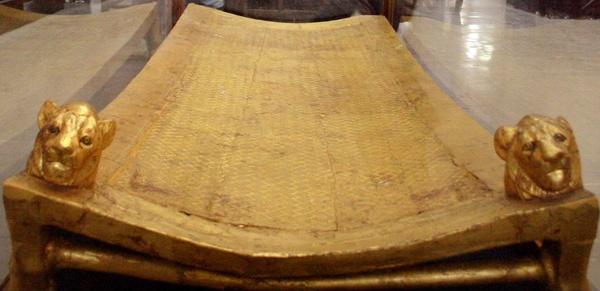 Tutankhamun's Gilded Bed
