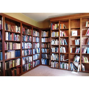 Bookcase Wallbed Home Library Left Wall