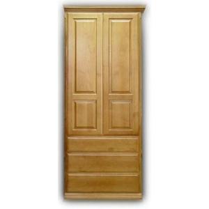 "Wardrobe 30"" - Presidential II style (square panels)"
