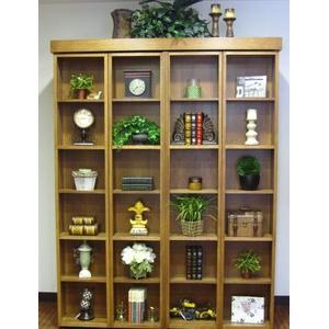 bookcase-quarter-sawn