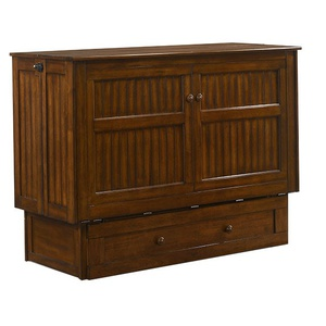 Daisy Murphy Cabinet Bed in Black Walnut finish