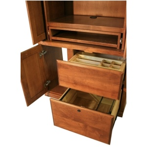 Tower Slot and File Drawer section open