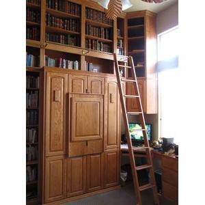 Custom Home Library Ladder