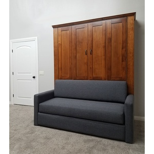 Remington Sofa Murphy Bed / Gray sofa