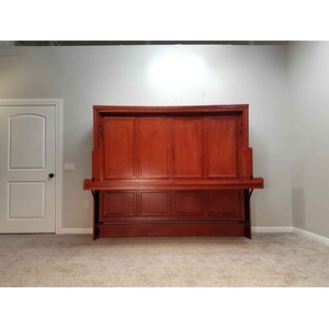 Brittany Style Disappearing Desk Bed Frontal View Closed