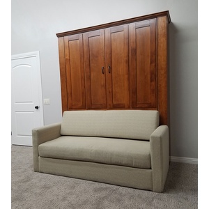 Remington Sofa Murphy Bed / Eggshell sofa