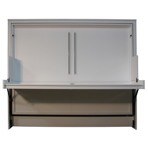 Scape style Murphy Desk Bed in White finish