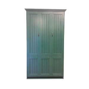 Twin size Newport Murphy Bed in Teal finish