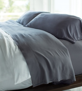 Blue Lagoon Bamboo Bed Sheets by Cariloha