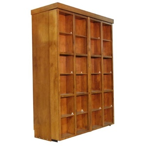 Bi-fold Bookcase Wallbed Closed