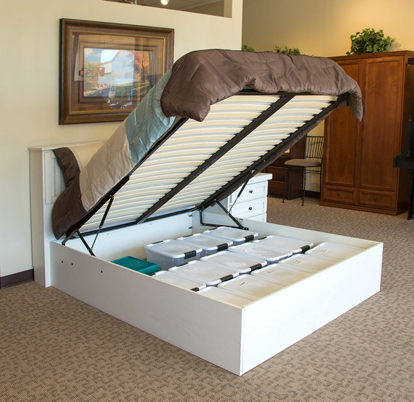 Unique Furniture For Small Spaces - Storage Bed