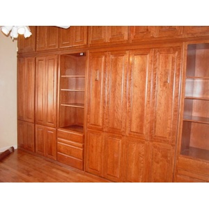 Built in Murphy Bed and Cabinet Installation