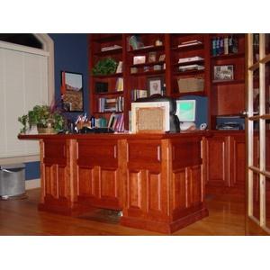 Custom Presidential style Desk