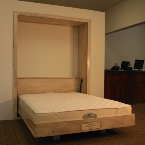 Hampton Wall Bed Built in open