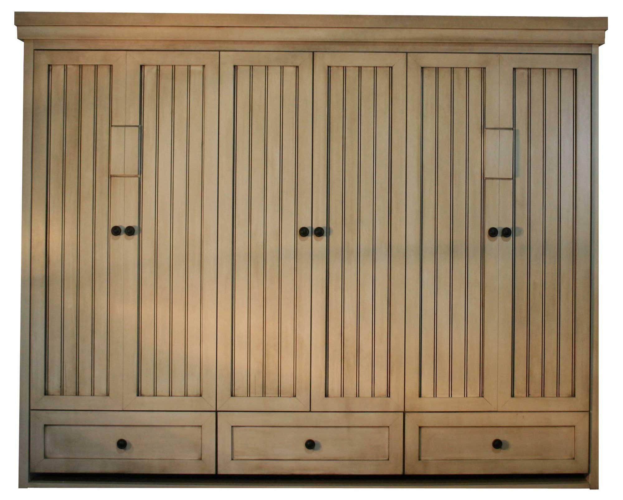 Pictures of murphy beds - Side Mount Queen Hampton