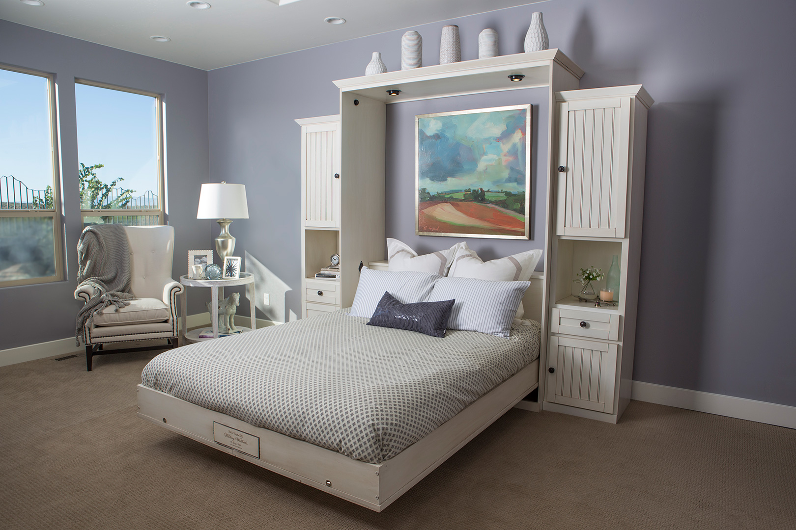 hampton wall bed style | wilding wallbeds