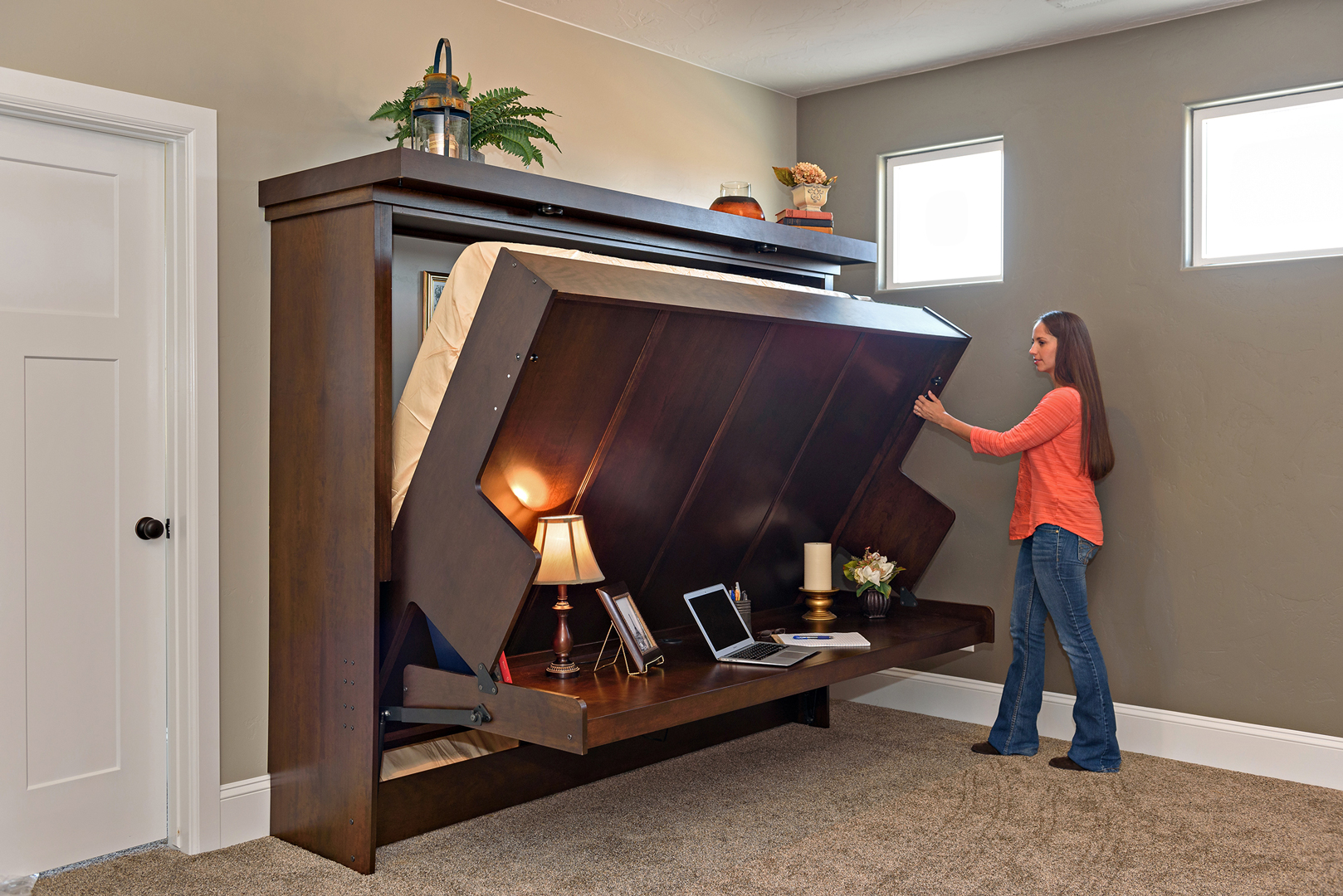Disappearing Desk Bed