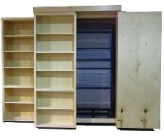 Standard Bookcase Wallbed