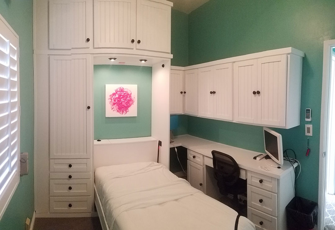home office murphy bed. Hampton Style Home Office In White Finish Murphy Bed