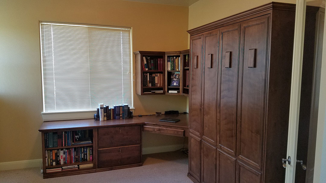 Office With Murphy Bed Queen Size