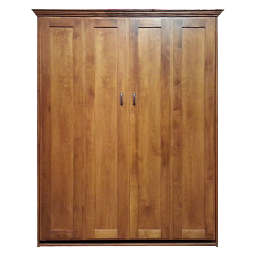 Remington Murphy Bed Special in Alder wood with Autumn Haze finish