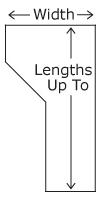 Desktop sizes for Home Office