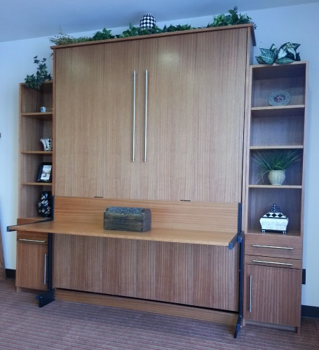 Scape style Murphy Bed with optional Studio Desk