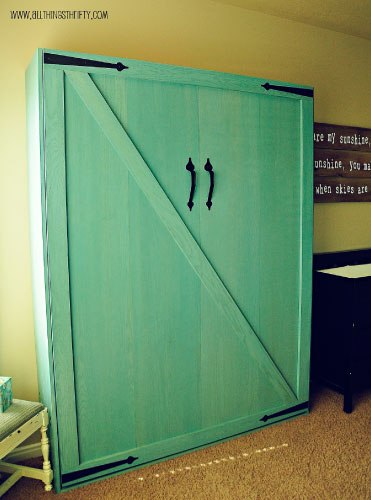Customer Made Do It Yourself Murphy Bed