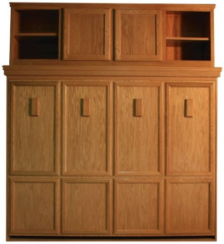 Brittany Side Mount Oak with Bed Top Cabinet with Natural Finish