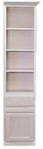 """18"""" Alder Door & Drawer cabinet with Slide Out and Mystique finish"""