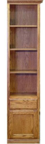 """18"""" Oak Door & Drawer cabinet with English Manor finish"""