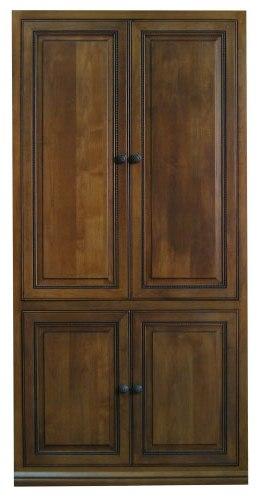 Hidden Table Cabinet Doors Closed