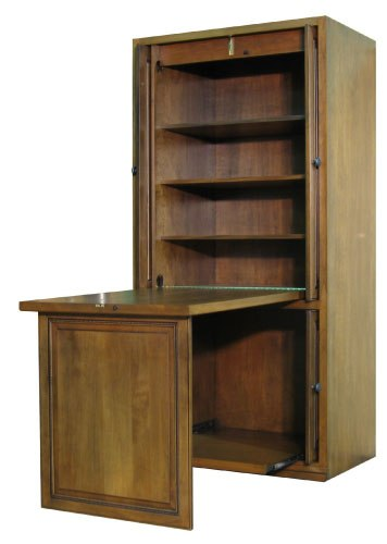 Hidden Table Cabinet Side View